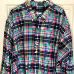 Big and Tall Men's Ralph Lauren Shirt
